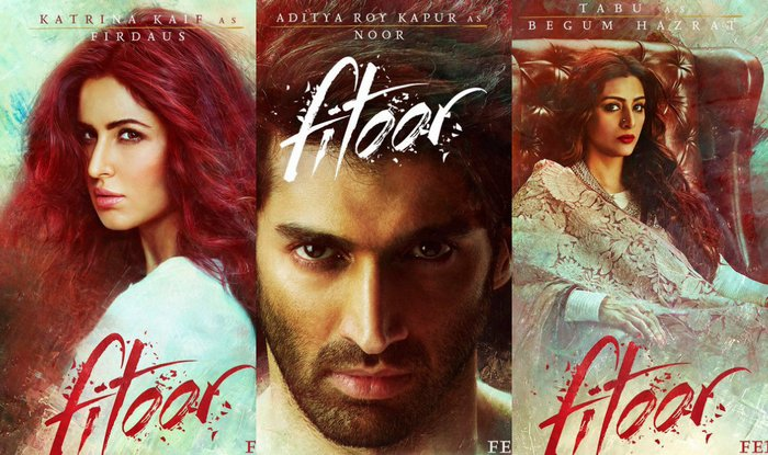 fitoor-trailer-posters
